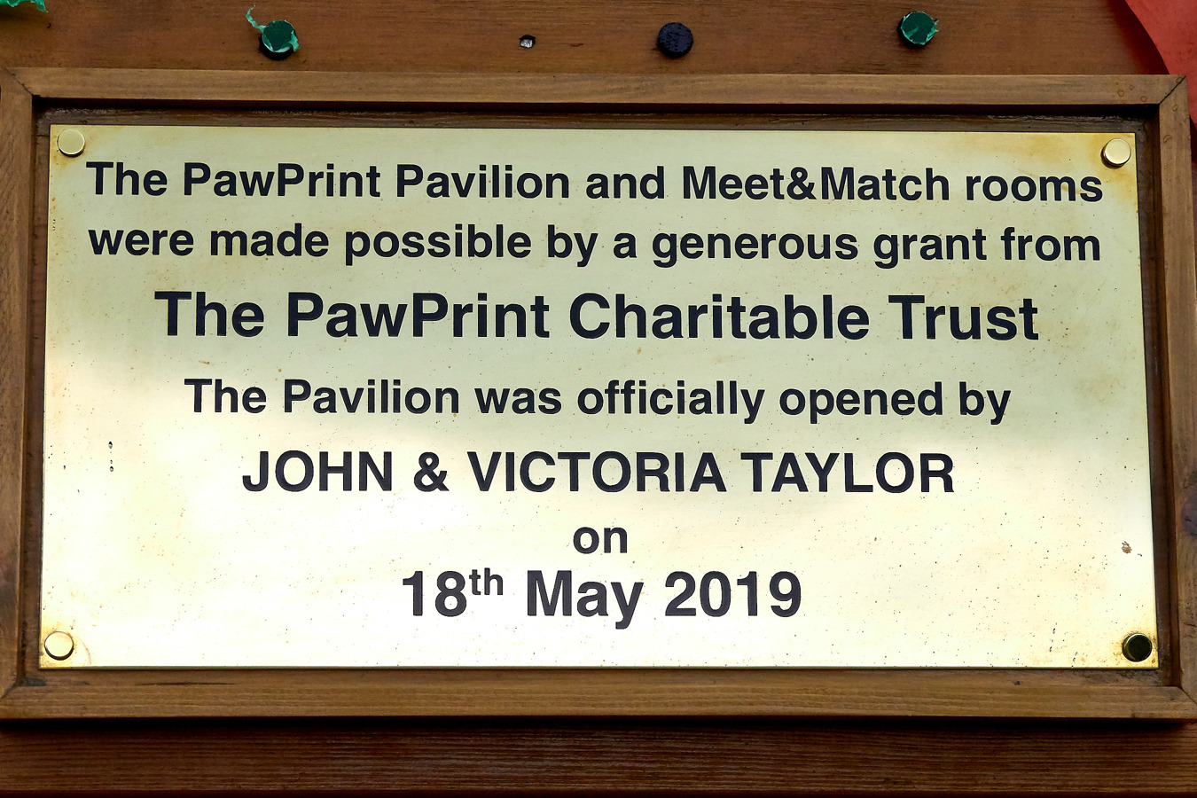 PawPrint Pavilion Opening | Jerry Green Dog Rescue