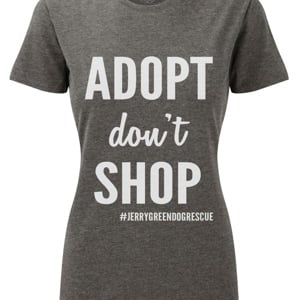 Adopt Don't Shop T-shirt (Unisex M)